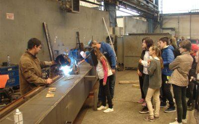 Pályaorientációs nap a Steel-Building Kft-nél