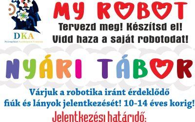 My Robot nyári tábor